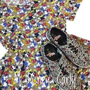 Medium Disney Print Carly Dress